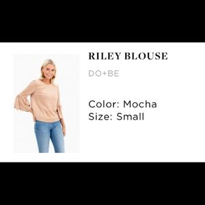 Riley Blouse by Do+Be